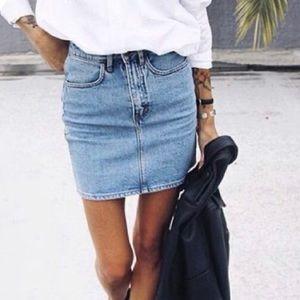BDG Skirt Denim Basic Size M